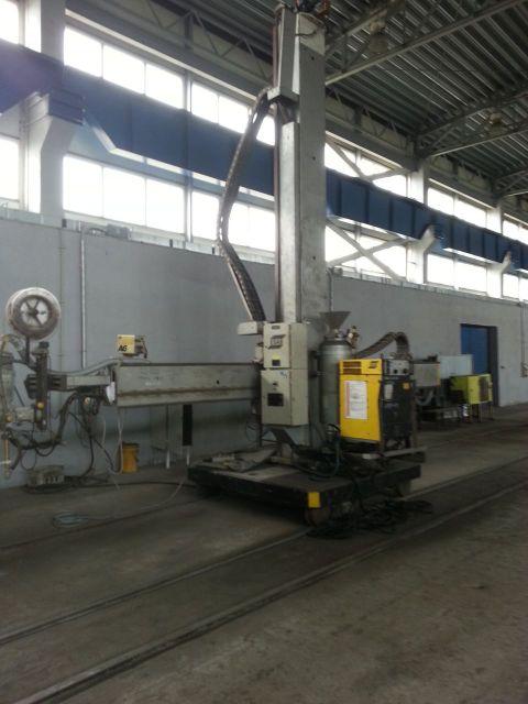 Robot spawalniczy ESAB 800 CNC 1999