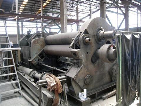 3 Roll Plate Bending Machine HAEUSLER KRMA 3000/30-50 1975