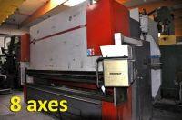 CNC Hydraulic Press Brake JEAN PERROT SYNCHRO II 250 T X 4000