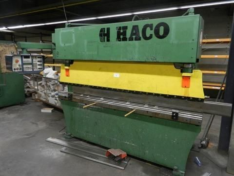 CNC Hydraulic Press Brake HACO PPES 60 T X 2600 1990