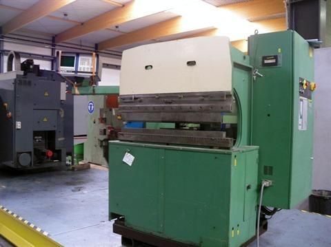 CNC Hydraulic Press Brake HACO PPEC 1994
