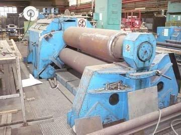 3 rol plaatbuigmachine HAEUSLER RMA 2500x30 1962