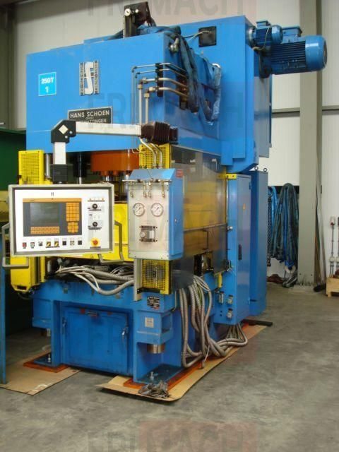 H Frame Hydraulic Press HANS SCHOES NHD 1995