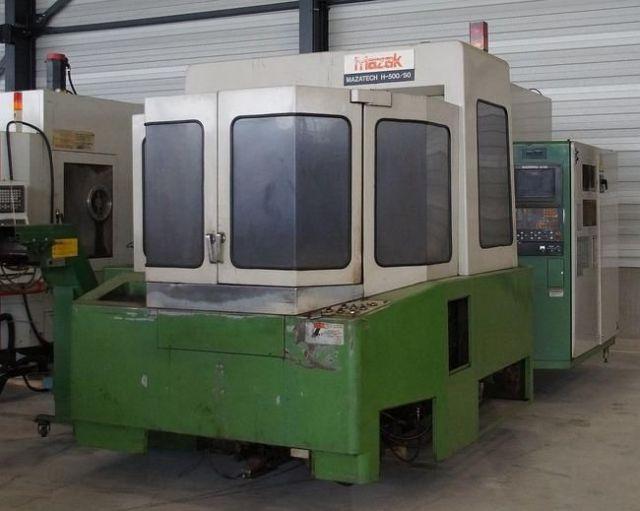 CNC Horizontal Machining Center MAZAK H 500/50 1990