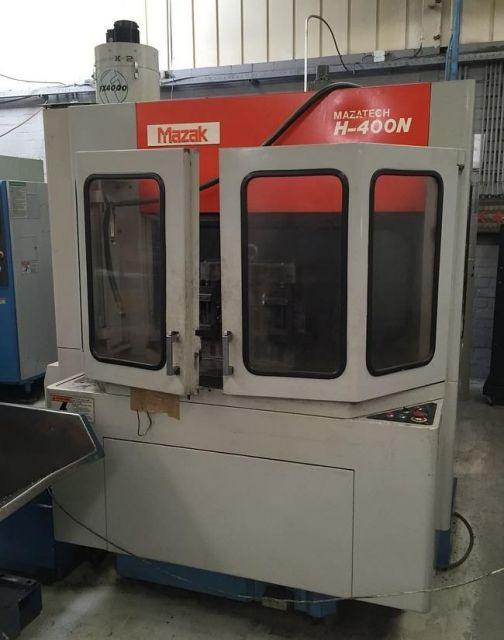 Centro di lavoro orizzontale CNC MAZAK H 400 N 1994