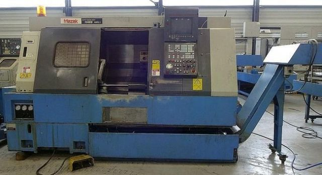 CNC eszterga MAZAK SUPER QUICK TURN 15 MS MARK II 1996