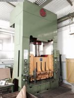 H Frame Hydraulic Press PITZMANN PFEIFFER DPZV 200/70