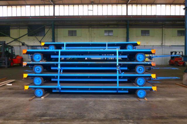 Frontstapler Kamp Indutrial trailer Heavy load lorry 2006
