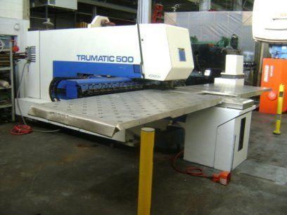 Turret Punch Press TRUMPF TC500R BOSCH CNC 1993