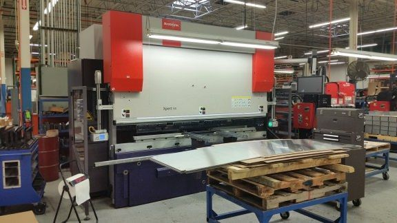CNC Hydraulic Press Brake BYSTRONIC XPERT 150 X 3100 2012