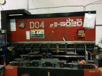 CNC särmäyspuristimen AMADA FBDIII5020NT