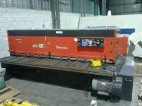 Cisaille guillotine hydraulique NC AMADA M3060