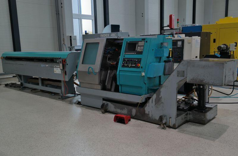 Nietypowy Okaz Automat tokarski CNC INDEX ABC D GE34