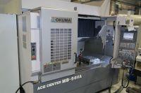 Vertikal CNC Fräszentrum OKUMA MB-56 VA