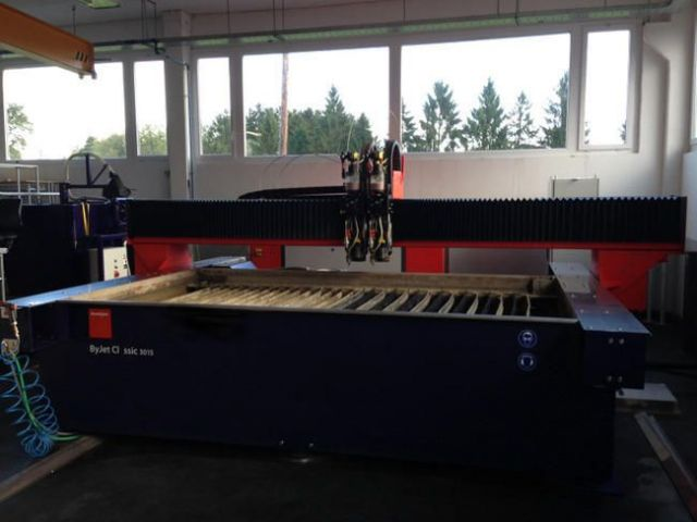 WaterJet 2D BYSTRONIC BYJET CLASSIC 3015 BASIC 2011