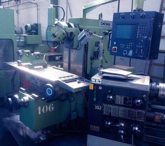 CNC Fräsmaschine CME FU 2 CC 1994