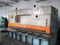 Hydraulic Guillotine Shear STROJARNE PIESOK CNTA 3150/16