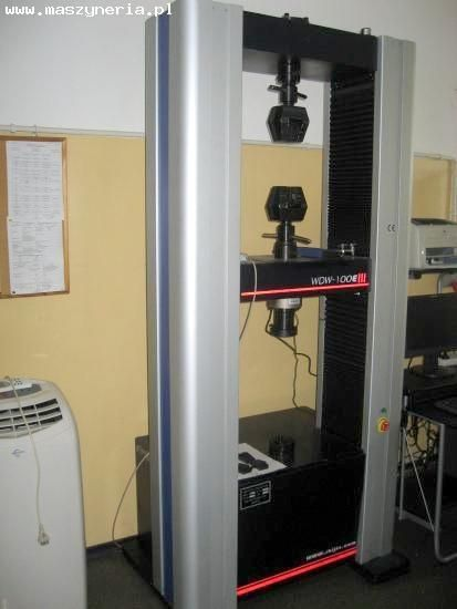 Skúšobný stroj WDW 100 E 2013