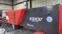 Máquina de perfuração da torre com o laser AMADA APELIO III 2510VL