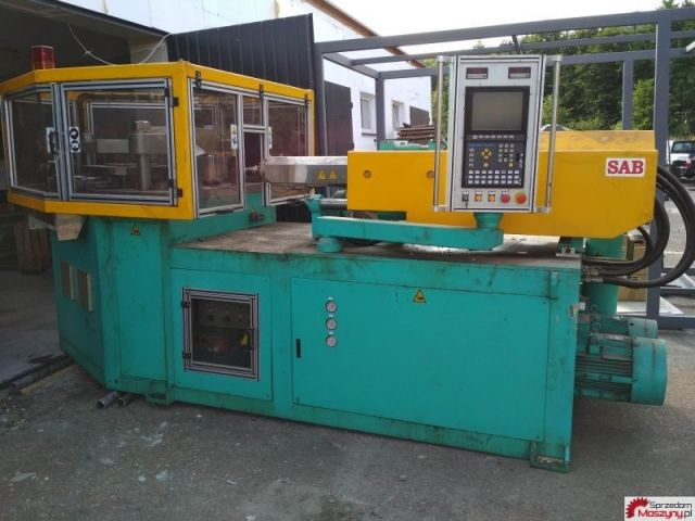 Plastics Injection Molding Machine SAB PET 2005