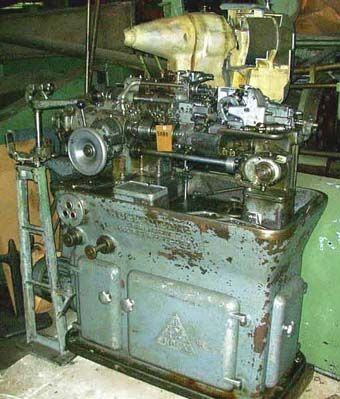 Multi Spindle Automatic Lathe INDEX OR 12 1980