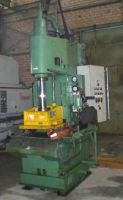 C Frame Hydraulic Press EITEL EZ 60 B