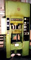H Frame Hydraulic Press DIEFFENBACHER KSR 63 AN