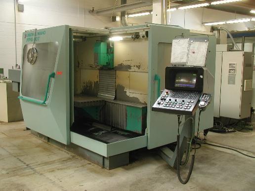 CNC Milling Machine DECKEL MAHO FP 4-60 T 1995