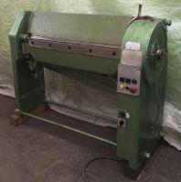 Schwenkbiegemaschine für die Blech MASCHINENBAU PLEVEN ML 2/1000
