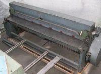 Mechanical Guillotine Shear HUTTENLOCHER SCHAFER HSKN