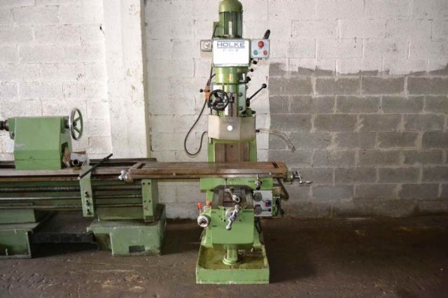 Vertical Milling Machine HOLKE F 10 V 1983