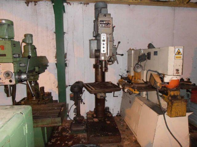 Column Drilling Machine ERLO TCA 60/70 1983