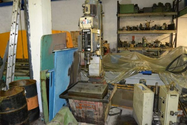 Box Column Drilling Machine IBARMIA 1 B 60 1985