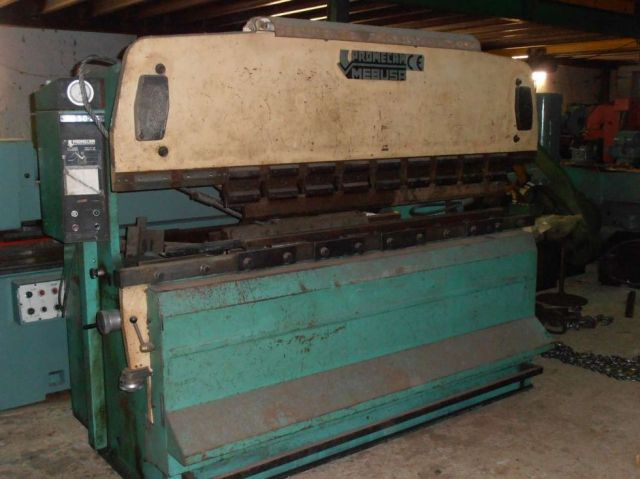 Hydraulic Press Brake MEBUSA PROMECAM RG 50-25 1992