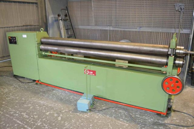 3 Roll Plate Bending Machine DISMA 254 TR 1989