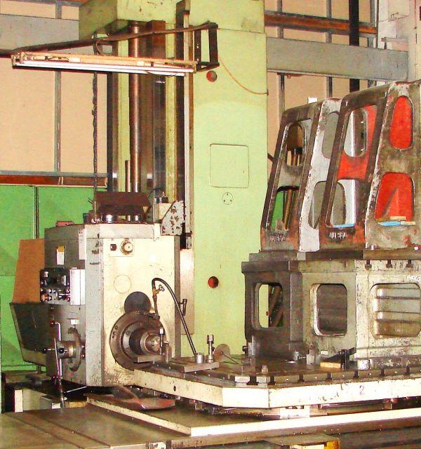 Horizontal Boring Machine TOS 110 CNC 1980