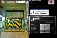 H Frame Hydraulic Press AMINO DSP 100 N Die Spotting Press