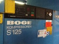Screw Compressor Boge S 125