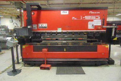 CNC Hydraulic Press Brake AMADA FBD1253NT 1999