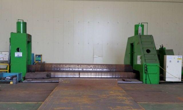 3 Roll Plate Bending Machine SAMSONG DESIGN TEK 40 T X 6200 L 2013