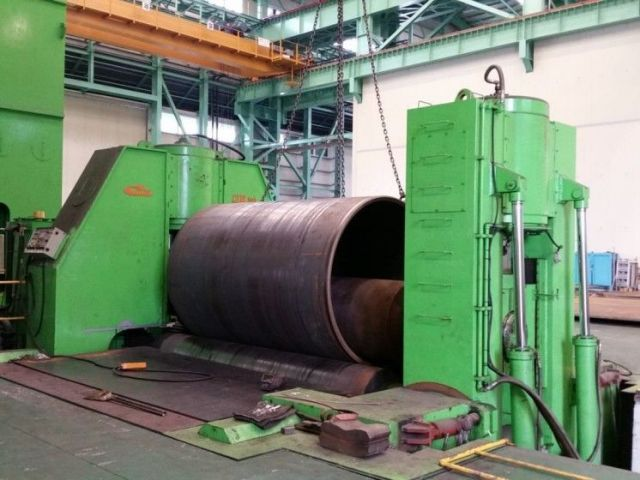 3 Roll Plate Bending Machine CIM TEK CIMBR 3 110 T X 420 L 2013
