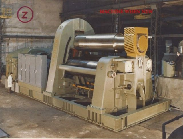 3 Roll Plate Bending Machine BOLDRINI TIPO PSI 12 X 6 1967