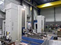 Horizontal Boring Machine UNION PR 160 TWIN COLUMN