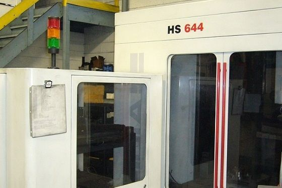 Centrum frezarskie pionowe CNC FIDIA HS 644 2002