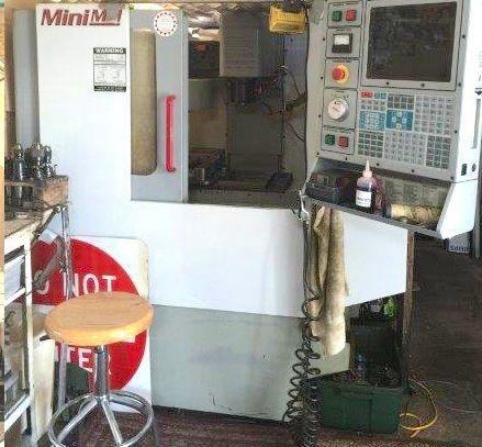 Cnc Vertical Machining Center Haas Mini Mill