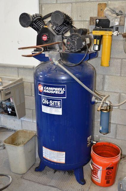 Screw Compressor CAMPBELL HAUSFELD DP 5810 1998
