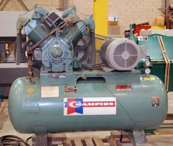 Piston Compressor CHAMPION HRA 25-12 1990