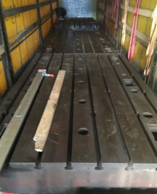 Horizontal Boring Machine Piani Stolle 2000 x 3200 mm 2.000 x 3.200 x H. 400 mm 2000