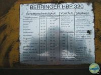 Hacksaw machine BEHRINGER HBP 320 A 1981-Photo 2