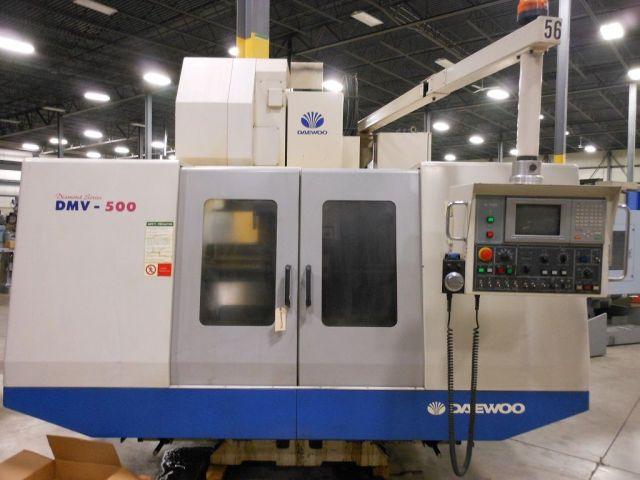 CNC Vertical Machining Center DAEWOO DMV-500 1999